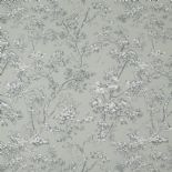 Fontainebleau Fabric Arbre Reina Blanc FONT81747106 or FONT 8174 71 06 By Casadeco